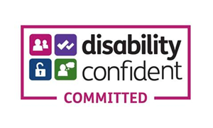'Disability Confident Employer' registered with HM Government